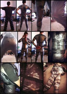TUTORIAL - Duct Tape Dummy (that won't stretch)