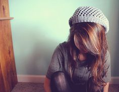 I love this hair.  Brunette with auburn highlights.  The knit hat is great too!