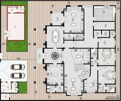 مخطط الفيلا رقم التصميم A9 من مبادرة بيتى 1003 متر مربع 7 غرف نوم