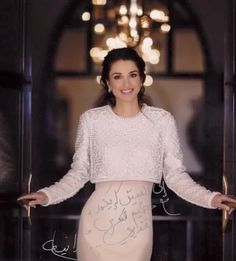 ♔♛Queen Rania of Jordan♔♛..2015, wearing a Krikor Jabotian gown