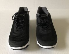6b27e10b4cae Nike Flex Experience Rn 6 Mens Black Textile Athletic Lace Up Running Shoes  12  Nike