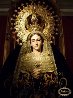Virgen de la Soledad patrona de Huescar. Granada:::::RAFAES