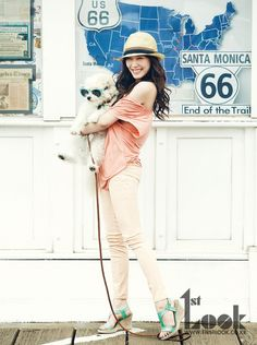 Girls' Generation's Tiffany shows her pride as a 'Californian Girl'