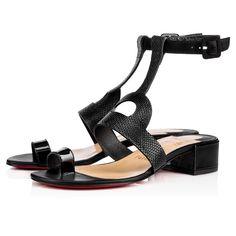 3d15a9266cf1 CHRISTIAN LOUBOUTIN Dalilow 25Mm Version Black Leather.  christianlouboutin   shoes   Mod Shoes