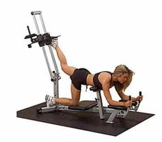Glute Master Leg Machine Exercise Workout Fitness Equipment abs home gym cardio