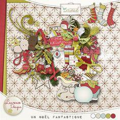 Un Noël Fantastique [LDUnNoëlFantastique] - €3.80 : My Scrap Art Digital, Passion for Digital Scrapbooking