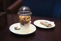 полезные десерты, йогурт, рав, гранола, тукано Fat