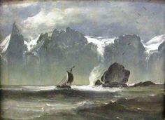 Peder Balke (1804-1887): The Seven Sisters
