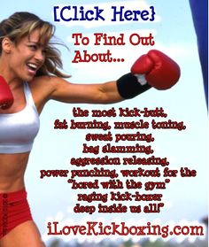I take kickboxing twice a week . . . and it is such an intense and awesome workout . . . I can't wait to see the effect it has on my body (summertime, here I come!)  :-)