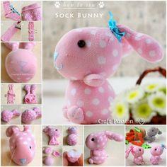 Sock Bunny Sewing Tutorial