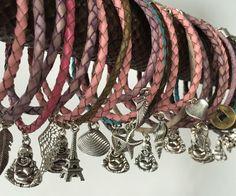 Spring 2016 Bracelets / lente 2016 armbanden #buddha #eiffeltoren #armbanden #hartje #bedels #zeepaardje #schelpjes #reeza.nl