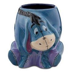 Eeyore Disney Sculpted Mug / Cup … Eeyore Pictures, Disney Coffee Mugs, Disney Cups, Winnie The Pooh Friends, Disney Kitchen, Pooh Bear, Disney Merchandise, Cute Mugs, Cute Characters
