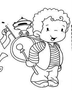 Busco Imágenes: dibujos fiestas patrias de chile, huaso, cueca, National Holidays, Pre School, Loki, Smurfs, Coloring Pages, Diy And Crafts, 18th, Snoopy, Drawings