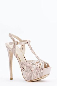 Womens Ladies Beige Diamante High Heel Party Strappy Shoes Size UK 4,5,6,7,8 New  Click On Link To Visit My Ebay Shop http://stores.ebay.co.uk/all-about-feet  Useful Info:  - Standard Size - Standard Fit - By Jumex - Beige In Colour - Heel Height: 6 Inches - Platform: 1.5 Inches - Diamante Detail All Over - Buckle To Side Fastening - Satin Upper #shoes #beigeshoes #strappyshoes #highheel #highheels #partyshoes #diamante #forsale #ebay #ebayseller #platform