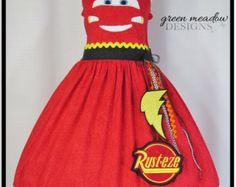 Lightning McQueen Cars Character Dress