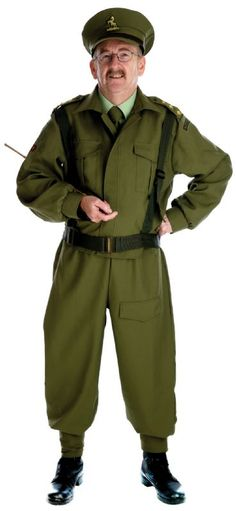 British Homeguard Solider Costume from Alterego Fancy Dress (FS_2429_ZZ)