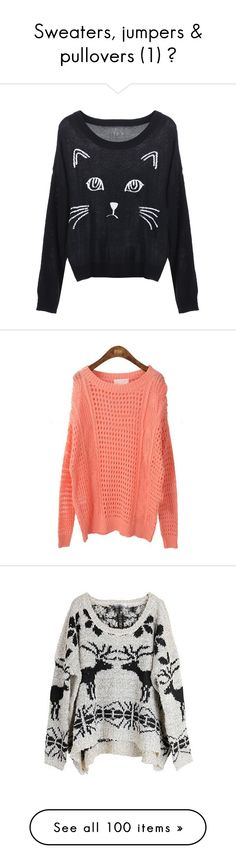 """Sweaters, jumpers & pullovers (1) ♥"" by ikaley ❤ liked on Polyvore"
