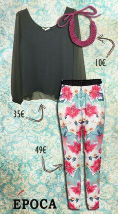 #flower #flores #outfit #look #fashion #fashionable #epoca #epocamoda #moda #morgan #morgandetoi #lavand #spain