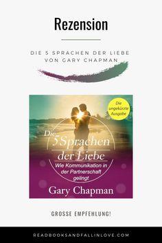 Dr. Gary Chapman ist unteranderem #Paarpsychologe und erklärt in diesem Hörbuch, wieso es wichtig ist die Sprache der #Liebe seines Partners zu erkennen. Das Hörbuch bietet einem aber auch die Chance sich selbst zu analysieren und eventuell herauszufinden, wieso frühere Beziehungen gescheitert sind. Soviel kann ich euch schon mal verraten; Reinhören lohnt sich auf jeden Fall! #buchblogger #buchtipp #beziehung #love #lesen #bücher Thriller Books, Books To Read, Gary Chapman, Movie Posters, 5 Love Languages, Relationships, Communication, Reading, Film Poster