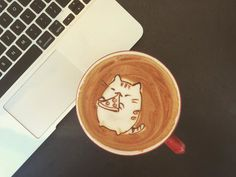 My Friend Convinced Me To Try Latte Art, Here's The Result