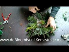 Geurende minikerstboom voor op tafel - YouTube
