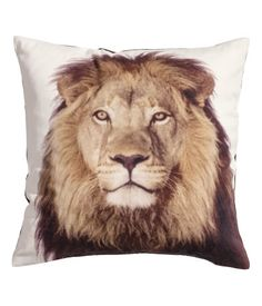 H&M US, Twill Cushion Cover, 16 x 16 in., $9.95