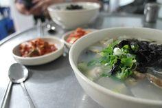 해물칼국수 Seafood Noodle, korean food