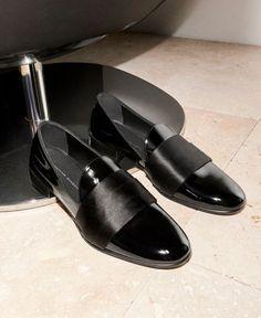 Fancy Shoes, Men's Shoes, Black Patent Leather Shoes, Giuseppe Zanotti, Gentleman, Loafers, Profile, Instagram, Fashion