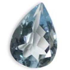 most beautiful sky blue colored Topaz gemstone from Brazil added to your jewels. The regular cut natural gems is 14 to 9mm in its size and has a amazing pears shape.