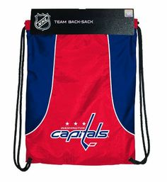 NHL Washington Capitals Axis Backsack by Concept 1. $10.99