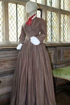 Jane Eyre Costume Exhibition at Haddon Hall. Jane Eyre.