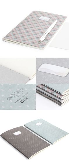 Adorable, simple, and made of recycled paper. This notebook is an overachiever!
