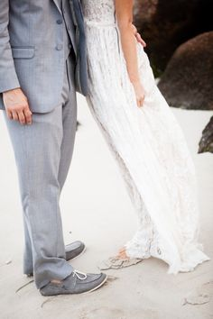 Dreamy beach wedding: http://www.stylemepretty.com/massachusetts-weddings/mashpee/2015/02/16/whimsical-cape-cod-beach-wedding/ | Photography: Melissa Robotti - http://www.melissarobottiphotography.com/