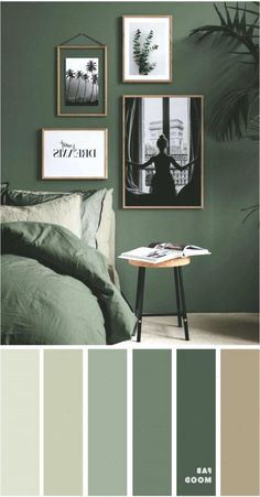 15 Earth Tone Colors For Bedroom Shades of Green Girls Bedroom Ideas bedroo Bedroom Colors Earth Green Shades tone Living Room Red, Living Room Interior, Living Room Decor, Bedroom Decor, Ikea Bedroom, Bedroom Furniture, Bedroom Ideas, Modern Bedroom, Bedroom Rustic