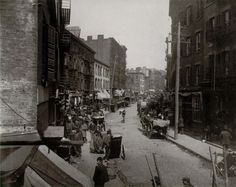 Mulberry Bend in the Five Points neighborhood Jacob Riis, c. 1896
