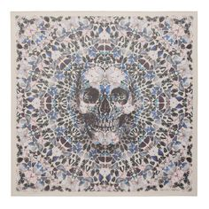 Alexander McQueen celebrates its ten year anniversary of its skull scarf with a Damien Hirst collaboration featuring bugs, skulls, spiders and butterflies.