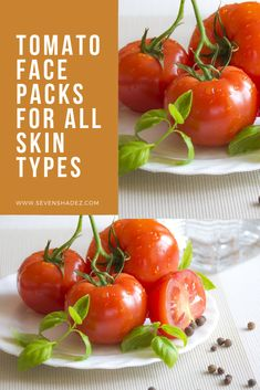 8 Tomato Face Packs For Different Skin Conditions - Seven Shadez Tan Removal Face Pack, Bleaching Powder, Homemade Face Pack, Aloe On Face, Tomato Face, Cinnamon Benefits, Tan Skin, How To Treat Acne, Skincare