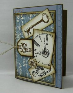 WT266: Time to Refresh by maryrose - Cards and Paper Crafts at Splitcoaststampers