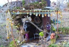 fairy garden inspiration <3 and now a stepping stone for a certain little girls cubby house!! #fairygardening