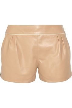 Leather shorts by Chloé
