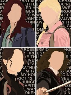 Clary Fray- The Mortal Instruments Annabeth Chase- Percy Jackson Katniss Everdeen- The Hunger Games Hermione Granger- Harry Potter