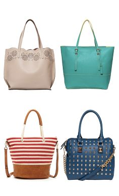 I want all of these purses!