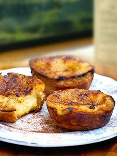 Custard Tarts - Pasteis de nata #Portugal : oh how I love these tasty tarts :D:D