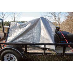 Ironton Folding Trailer Kit — 4ft. x 8ft.