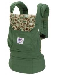 Ergo Organic Carrier- we used this and loved being able to keep baby close!
