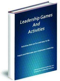 Leadership Games - Learn Good Leadership Skill Development