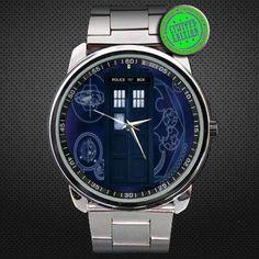 2013 Doctor Who Tardis Starry Night Sport Metal by jokotingkir, $14.00