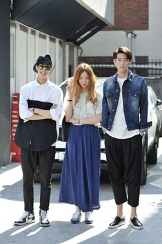 김필수,이성경,조민호 (Model) Street Style Korea Seoul 2014 may 3