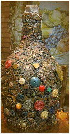 Memory jug, southern folk art