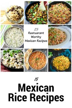 15 Delicious Mexican Rice Recipes Right Here in the Link!